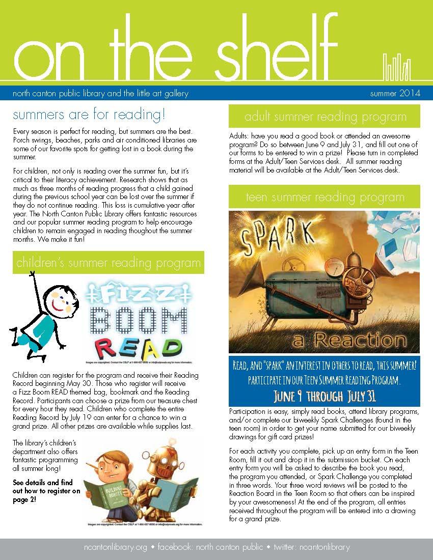 Teen news letter