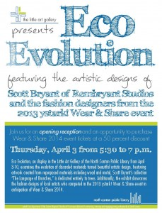 Eco Evolution Exhibit Opening @ Little Art Gallery of the North Canton Public Library | North Canton | Ohio | United States
